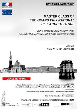 affiche workshop venise English