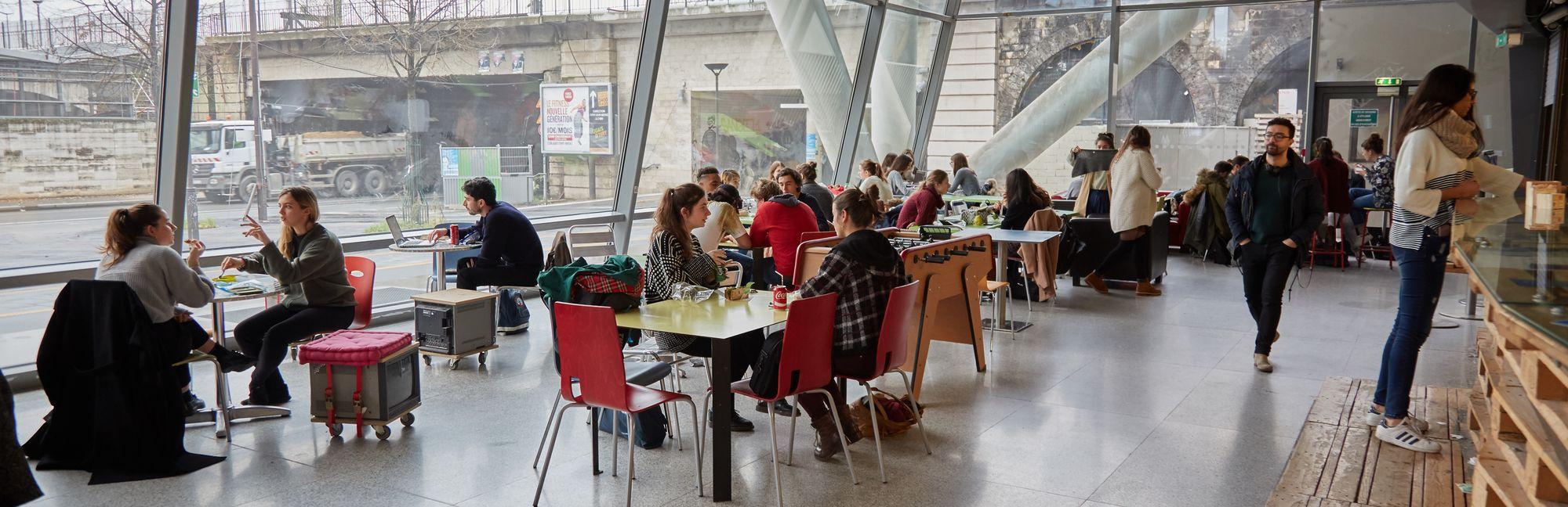 Ensa Paris Val De Seine où se restaurer quand on étudie à l'ensa paris-val de seine ?