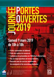 Affiche journée portes ouverte 2019